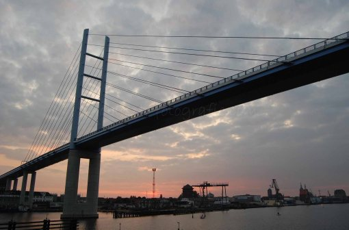 Stralsund und Rügenbrücke