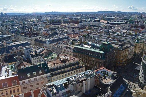Wien-Stephansdom-Aussicht